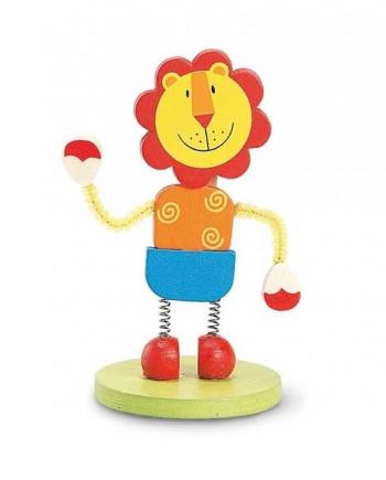 Memo clip figurine