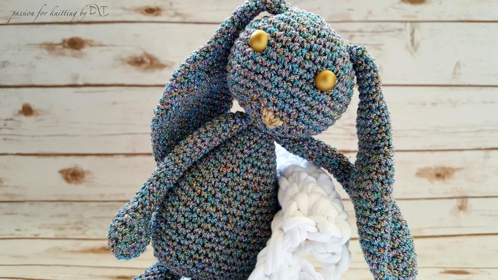 Crochet handmade sparkle Bunny